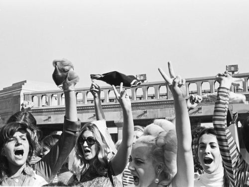 The importance of clothing in 1960s protestmovements